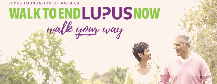 Virtual Walk to End Lupus Now - Wisconsin Together